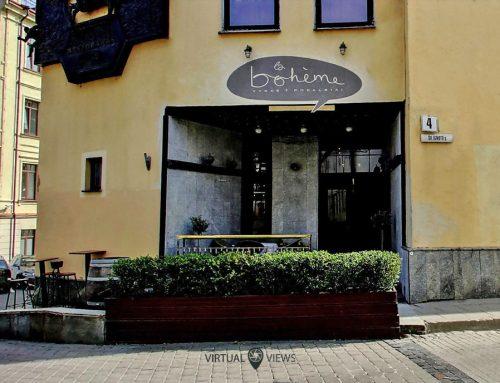 Google Mano Verslas ir Street View restorane